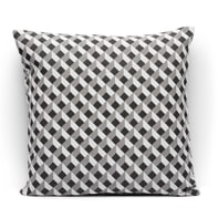 Fodera per cuscino Matrix grigio 40x40 cm