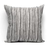 Fodera per cuscino Raya grigio 60x60 cm