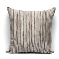 Fodera per cuscino Raya marrone 60x60 cm
