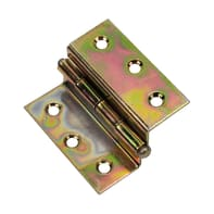 Cerniera piana 35 x 40 mm, ferro, 2 pezzi