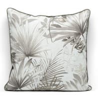 Cuscino grande Palm grigio 50x50 cm