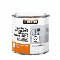 Smalto LUXENS Manounica base acqua bianco lucido 0.5 L