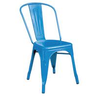 Sedia Industrial colore blu