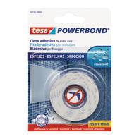 Nastro bi-adesivo TESA TAPE Powerbond per specchi 1.5 m x 19 mm bianco