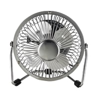 Ventilatore EQUATION TX-401D  silver 6 W Ø 10 cm