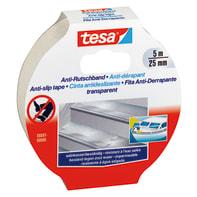 Nastro antiscivolo TESA 25 mm x 5 m trasparente