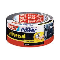 Nastro di riparazione TESA Extra Power 50 mm x 25 m nero