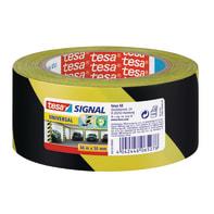 Nastro riflettente TESA nero e giallo 50 mm x 6600 m