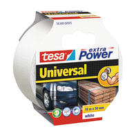 Nastro TESA Extra Power 50 mm x 10 m bianco
