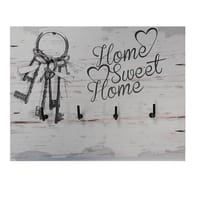 Bacheca Home sweet home 3 ganci multicolore 200 x 150 mm x 1 cm