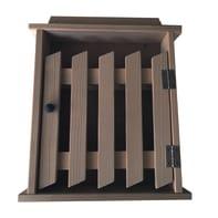 Bacheca portachiavi Cancello 6 ganci 240 x 290 mm x 5 cm