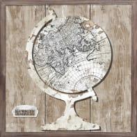 Decorazione da parete World Map 40x40 cm