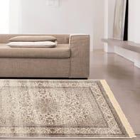 Tappeto persiano Orient kashan 1 in viscosa, multicolor, 160x230 cm