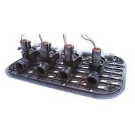 Elettrovalvola con regolatore di flusso RAIN Kit premontato 9 V
