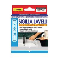 Sigillante SARATOGA Sigilla lavelli bianco 335 ml