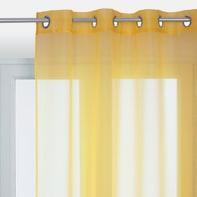 Tenda INSPIRE Polyone giallo occhielli 140 x 280 cm