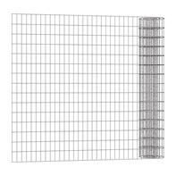 Rotolo di rete metallica elettrosaldato Executive ECO grigio / argento L 25 x H 1 m