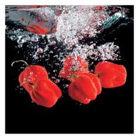 Quadro su tela Pepper splash 30x30 cm