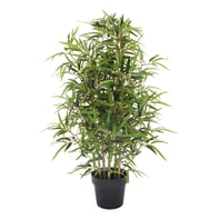 Pianta artificiale Bamboo in vaso H 100 cm