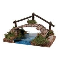 Ponte sul fiume H 8 cm