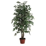 Pianta artificiale Ficus in vaso H 125 cm