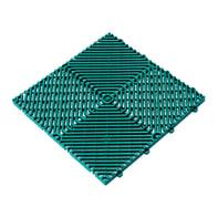 Piastrelle ad incastro Pool 39.5 x 39.5 cm, Sp 18 mm colore verde
