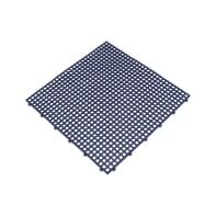Piastrelle ad incastro 6 pezzi in caucciù 40 x 40 cm Sp 7 mm,  blu