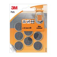 Pattino 3M SP87A34 Ø 22 mm, 8 pezzi