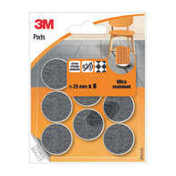 Pattino 3M SP87A35 Ø 25 mm, 8 pezzi