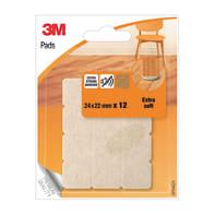Pattino 3M SP84A24 L 24 mm, H 22 mm, 12 pezzi