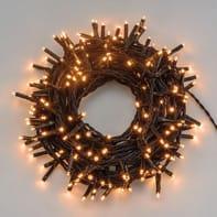 Catena luminosa 750 lampadine LED bianco caldo 4 m