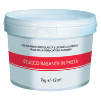 Stucco in pasta Rasante 7 kg bianco