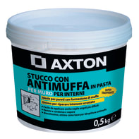 Stucco in pasta AXTON Antimuffa 500 g bianco