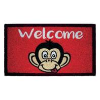 Zerbino Candy Monkey in cocco multicolore 40x70 cm