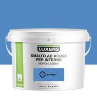 Vernice di finitura LUXENS Bimano base acqua blu zaffiro 4 satinato 2.5 L