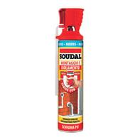 Schiuma poliuretanica SOUDAL Genius Gun ecru per porta 0,6 ml