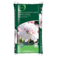 Terriccio GEOLIA per piante fiorite ed aiuole 45 L