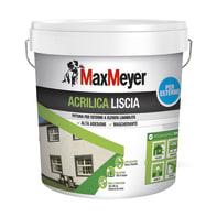 Vernice acrilica MaxMeyer liscia bianco 14 L