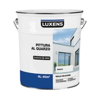 Pittura acrilica per facciate LUXENS bianco 4 L
