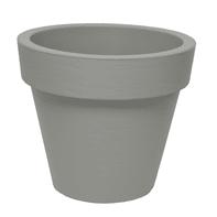 Vaso Bordato liscio in plastica H 70 cm, Ø 78 cm