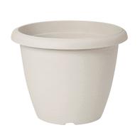 Vaso Terrae in plastica colore bianco H 42.5 cm, Ø 60 cm