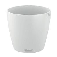 Vaso Classico Color LECHUZA in plastica bianco H 33 Ø 35 cm