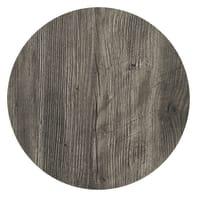 Piano tavolo ø 70 cm in legno opaco Sp 17 mm