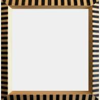 Cornice Florence nero per foto da 40x40 cm
