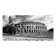 Quadro su tela Colosseo 180x80 cm