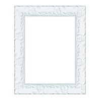 Cornice INSPIRE Sylvia bianco per foto da 18X24 cm