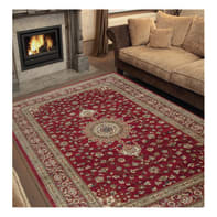 Tappeto persiano Bechir 611616 , rosso, 133x190