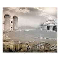 Quadro su tela Napoli 75x115 cm
