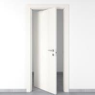 Porta rototraslante Wood bianco L 70 x H 210 cm sinistra