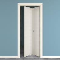 Porta pieghevole Touch bianco matrix L 70 x H 210 cm destra